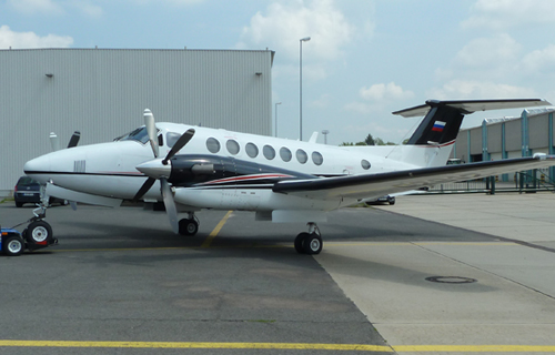 "Aerial survey aircraft Beechcraft King Air 350 ownership of the ""Meridian+"" Enterprise"